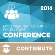 Contribute - ETE Conference 2016