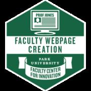 Faculty Webpage Creation (Do)