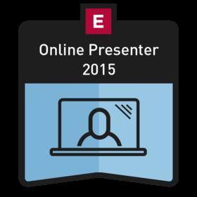 EDUCAUSE Online Presenter