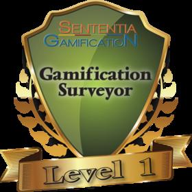 Level 1 Gamification Surveyor Certification