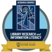 Library Research & Information Literacy