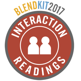 BlendKit2017: Interactions – Readings