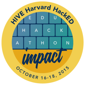 Harvard HackED 2015 HIVE Education Hackathon Distinction: Impact
