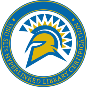 SJSU SLIS Hyperlinked Library Certification