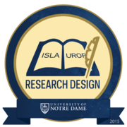2015 ISLA/UROP Research Design Badge