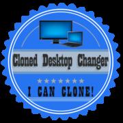 Cloned vs Extended Desktop