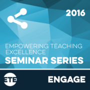 Engage - Faculty Seminar Series 2016