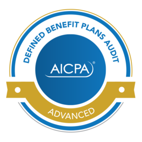 Advanced Defined Benefit Plans Audit Certificate