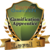 badge image for Level 1 Gamification Apprentice Certification