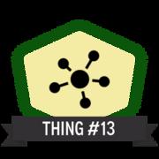 Thing 13: Walk the crosswalk