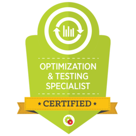 Certified Optimization & Testing Specialist