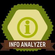 Master Info Analyzer