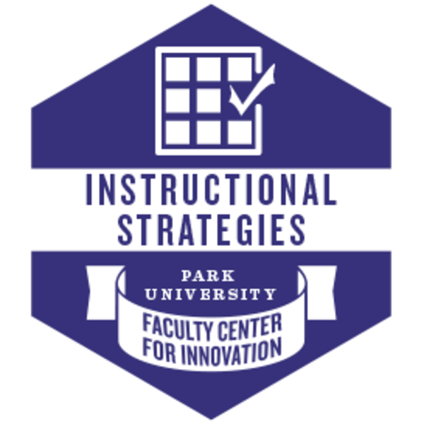 Instructional Strategies Learn Credly