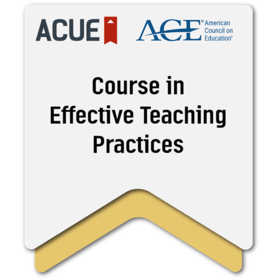 Effective Teaching Practices
