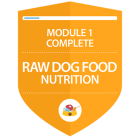 Raw Dog Food Nutrition: Complete Module 1