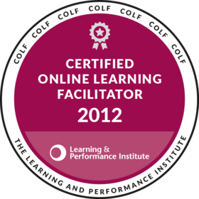 Certified Online Learning Facilitator