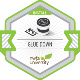 Glue-Down Installation Process