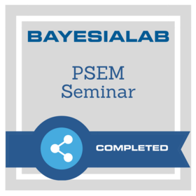 Seminar on Key Drivers Analysis and Optimization with Probabilistic Structural Equation Models