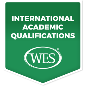 Verified International Academic Qualifications