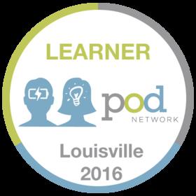 Learner - 2016 POD Network Conference