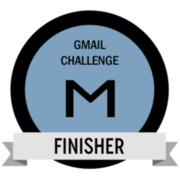 Gmail Challenge Finisher