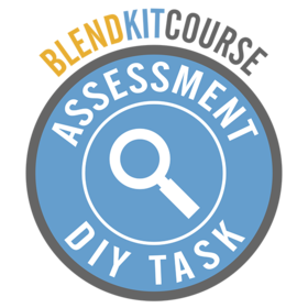 BlendKit2014: Assessment - DIY Tasks