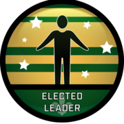 Elected Leader Badge