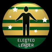 Elected Leader Badge