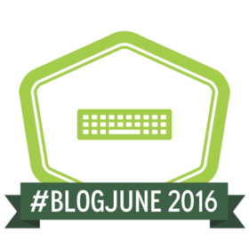 BlogJune Participant