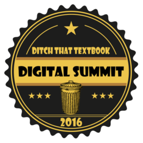 Ditch That Textbook Digital Summit 2016