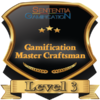 badge image for Level 3: Gamification Master Craftsman Certification