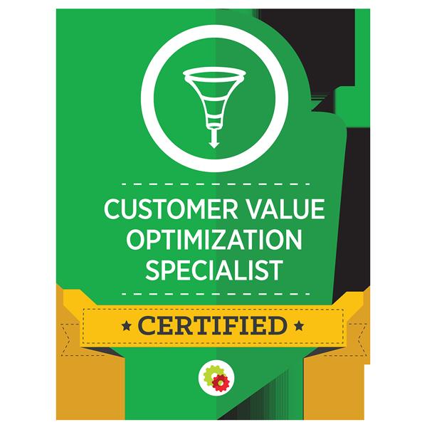 Certified Customer Value Optimization Specialist