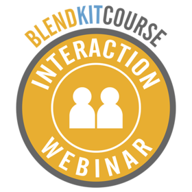 BlendKit2014: Interactions - Webinar