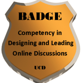 Designing and Leading Online Discussions