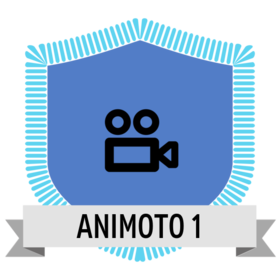 Animoto Level 1 O Credly