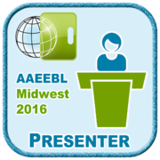 AAEEBL Midwest Regional Conference Presenter Badge (2016)
