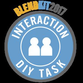 BlendKit2017: Interactions – DIY Tasks