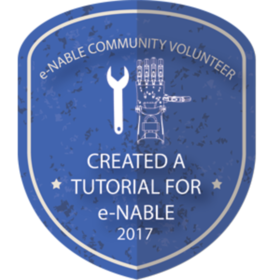 Made A Tutorial For The e-NABLE Community