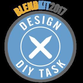 BlendKit2017: Design – DIY Tasks