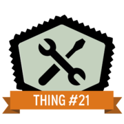 Thing 21: Tools of the trade