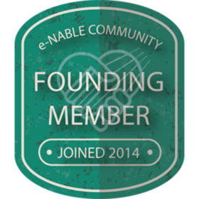 e-NABLE COMMUNITY FOUNDING MEMBER 2014