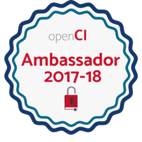 openCI Ambassador 2017-18