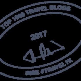 2017 #travel1k Top 1000 Travel Blogs