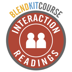 BlendKit2014: Interactions - Readings