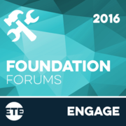 Engage - Foundation Forum Events 2016
