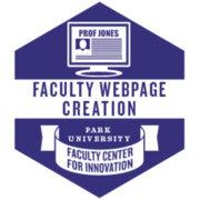 Faculty Webpage Creation (Learn)