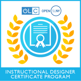 OLC and Open SUNY Instructional Designer Certificate Program