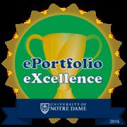 ePortfolio Excellence 2016
